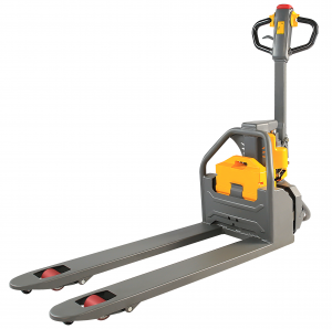 Electric Pallet Jack 27 x 48 - 2600 LB capacity, Strong Frame, safety brake