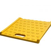 Poly Curb Ramp, light duty ramp with 1,100 LB capacity | Mr Dock Plate, Industrial Supplier